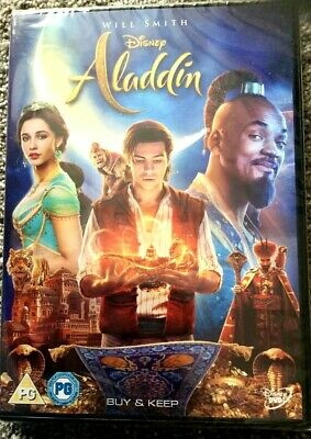 Aladdin DVD. Disney Starring Will Smith. Brand NEW And Sealed