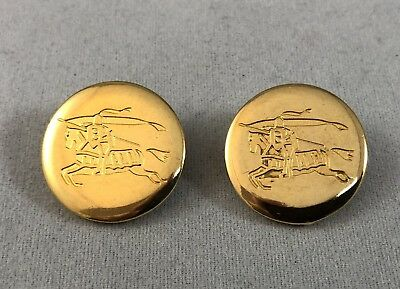 Burberry Buttons (x1) Metal Gold Colour 19mm