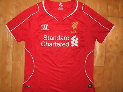 WARRIOR Youth LIVERPOOL FC Soccer Futbol Football Jersey Shirt Size 8 / Small S