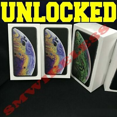 Apple iPhone XS 64GB┇ 256GB┇512GB (UNLOCKED) SPACE GRAY │SILVER│GOLD **SEALED**