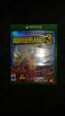 Borderlands 3 for Xbox One w/Gold Weapon Skins Pack Brand New Factory Sealed!