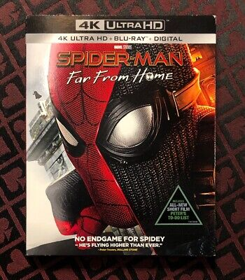 Spider-Man: Far From Home (4k UHD/Bluray/Digital) NEW Sealed Marvel Studios