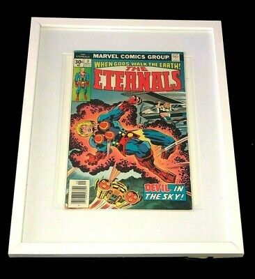 The Eternals #3 (1976) - First Appearance of Sersi Good Condition in Glass Frame