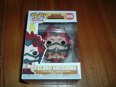 Funko Pop! Eijiro Kirishima #606~ New~ Mint~ My Hero Academia Series~