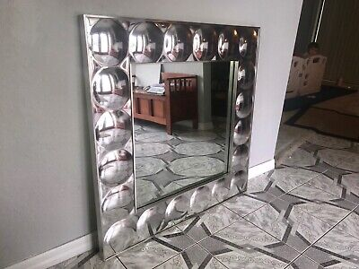 Mid Century Modern Bubble Mirror by Turner