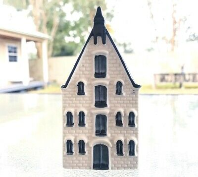 KLM BOLS Blue Delft House #70 Amsterdam 1575 | Sealed With Liquid | Great Shape