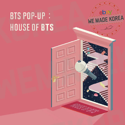 HOUSE OF BTS POP UP STORE IN SEOUL Official Bangtan Boys Authentic Goods