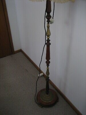 Antique Light Stand