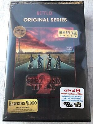 Stranger Things Season 2 Collectors Edition Target Exclusive 6-Disc Blu-Ray+Dvd