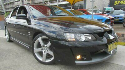 2004 Holden Special Vehicles ClubSport YII Black Manual 6sp M Sedan