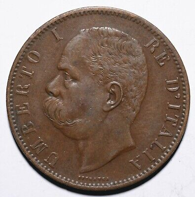 1894 Italy Ten 10 Centesimi - Umberto I - Lot 153