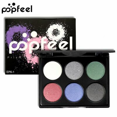 Pigment Mineral Glitter Shimmer Cosmetic Tool Eye Shadows Powder Palette