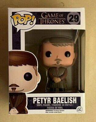 Funko POP Retired/Vaulted Petyr Baelish Game of Thrones Vinyl Figure #29