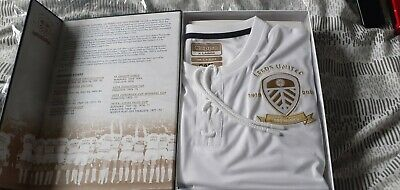 Leeds United Centenary Shirt and Book, BNIB Limited Edition 1919.