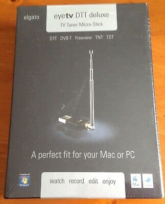 Elgato Eye Tv Dtt Deluxe Tv Tuner Micro Stick Mac Windows 7