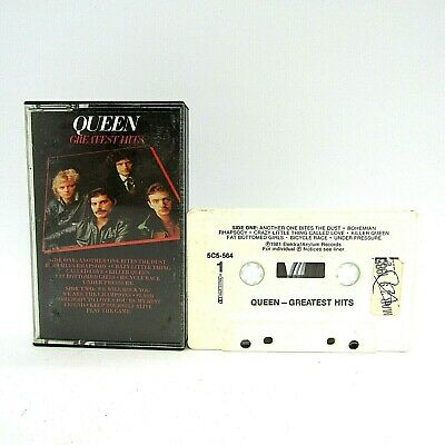 Queen Greatest Hits Audio Cassette Tape Tested Elektra 5C5-564