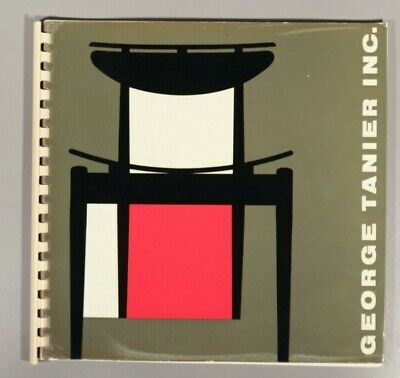 Finn Juhl for Bovirke rare George Tarnier trade catalogue Danish Modern