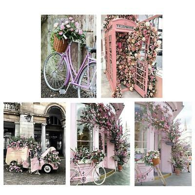 5D DIY Full Drill Diamond Painting Flowers Car Cross Stitch Embroidery Kits LY