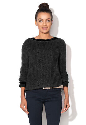 Maglioncino Pullover Donna UNITED COLORS OF BENETTON 1042D1551 Nero