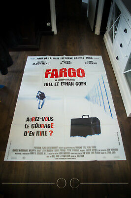 FARGO Cult Movie Glossy Poster JOEL AND ETHAN COEN BROTHERS A4 Vintage Picture