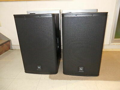 "*AS NEW* EV (Electro-Voice) ELX115 15"" Speakers"