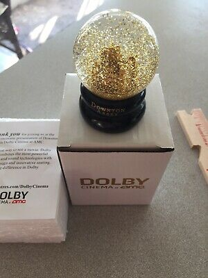 Downton Abbey snow Globe Castle Promo Event from NEW Movie Dolby Cinema CHARITY