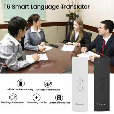 Smart Voice Translator Portable 2-Way Real Time Multi-Language Translation