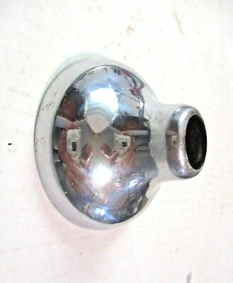 1 Antique Chrome Cartridge Stem Wall Cover Escutcheon Bathtub Shower Tub Faucet