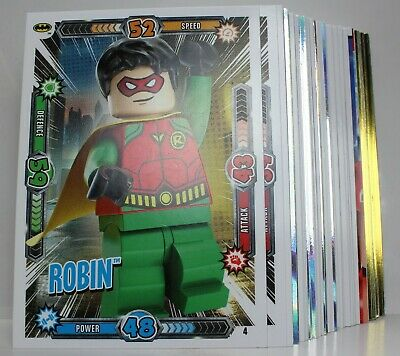 Lego Batman Trading cards 5 for £1 (£1 postage for any quantity of cards)