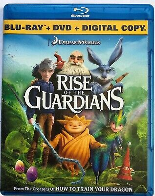 Rise of the Guardians (Blu-ray/DVD, 2013, 2-Disc Set, Includes Digital Copy...