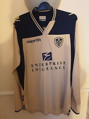 Leeds United 2013-2014 Football Shirt Away Long Sleeve Macron M