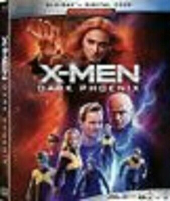 X-Men Dark Phoenix (Blu-Ray ONLY,2019) NEW DISCS - NO DIGITAL- w/SLIPCOVER