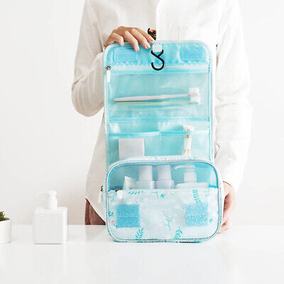 FT- IG_ Travel Foldable Hanging Makeup Cosmetic Storage Wash Bag Toiletry Pouch