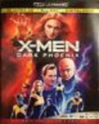 X-Men Dark Phoenix (4K Uhd + Blu-Ray) New Discs-No Digital-W/Slipcover