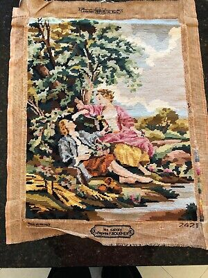 Vintage Creations Margot De Paris Finished Canvas Gobelin Tapestry
