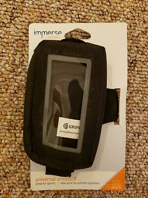 Griffin Immerse Universal Armband Black for LARGE Devices MP3 Players GB02047