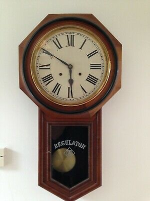 Ansonia Regulator Clock, Antique Clock, American Collectibles, Rare Clocks,