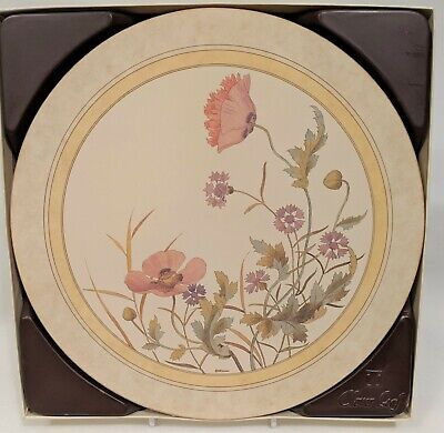 Vintage Boxed 6 Clover Leaf The Minton Collection Placemats Table Protector Cork