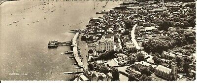 (x24) Cowes - Panoramic Isle of Wight Postcard