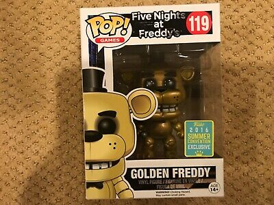 Funko Pop - Five Nights at Freddy's - GOLDEN FREDDY - SDCC Exclusive