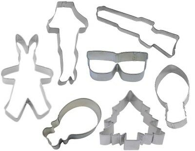 7 Piece Christmas Story Cookie Cutter Set
