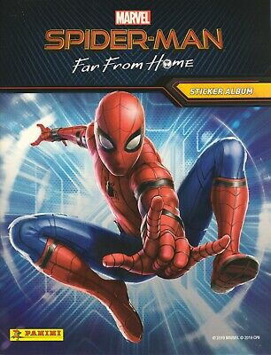 Panini Spiderman FAR FROM HOME ☆ SINGLE STICKERS /& CARDS ☆ BUY 2 GET 8 FREE