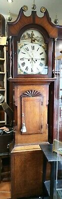 Antique 8 Day Grandfather Clock, Youngson of Rillington - Delivery Arranged