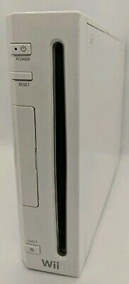 Nintendo Wii Console Only RVL-001 For Parts Repair Works But Doesn't Read Discs