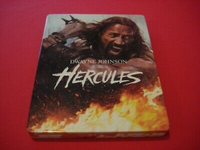 "Blu Ray Steelbook 3D+DVD+Bonus ""Hecules"" Edition FNAC France, VF"