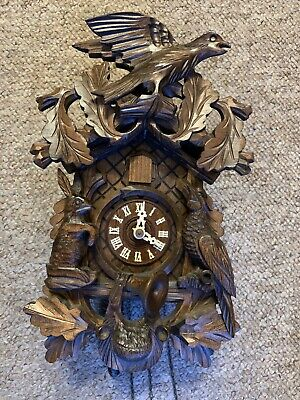 Vintage Black Forest Regula West German Cuckoo Clock - Missing Pendulum