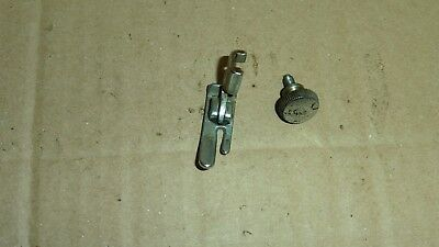 Singer Standard Hinged Foot Attachment, Used, With Fixing Screw