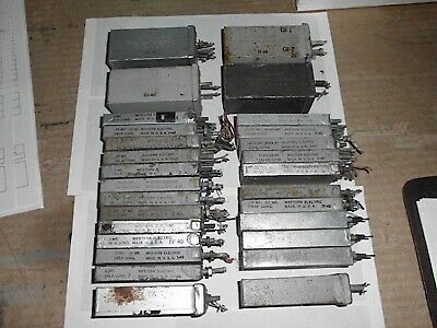 25 Vintage Western Electric Capacitors