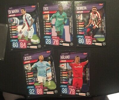 Topps Match Attax on Demand UEFA Champions League Pack 3