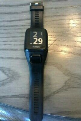 TomTom SPARK Cardio + 3GB Music GPS Fitness Watch Black Large Used Exc condition